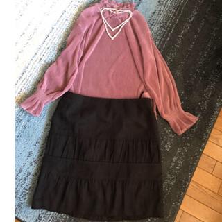 ニジュウサンク(23区)のティアード♥スカート(ひざ丈スカート)
