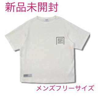 【新品未開封】good night 5tore ★ロゴTシャツ(黒)