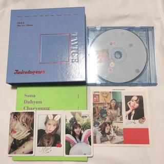 ウェストトゥワイス(Waste(twice))のTWICE the 1st album  twicetagram(アイドル)