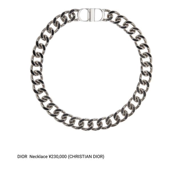 Christian Dior(クリスチャンディオール)の dior homme ネックレス メンズのアクセサリー(ネックレス)の商品写真