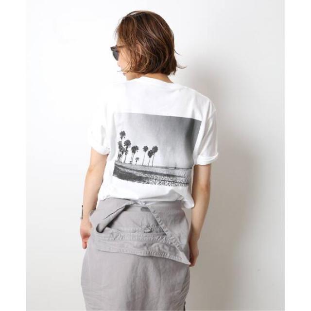 DEUXIEME CLASSE(ドゥーズィエムクラス)の【Deuxieme Classe】Photo T-shirt レディースのトップス(Tシャツ(半袖/袖なし))の商品写真