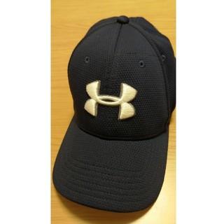 アンダーアーマー(UNDER ARMOUR)のアンダーアーマー(UA) 帽子 紺(キャップ)