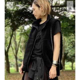 DEUXIEME CLASSE - 新品 AP STUDIO 【yeti/イエティ】別注ウールボアベスト
