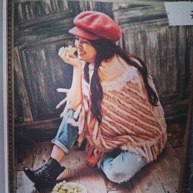 Ungrid(アングリッド)のungrid ウールキャスケット レディースの帽子(キャスケット)の商品写真
