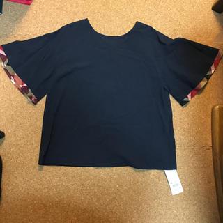 ブラックレーベルクレストブリッジ(BLACK LABEL CRESTBRIDGE)の 新品タグ付き クレストブリッジ ブルーレーベル カットソー(カットソー(半袖/袖なし))