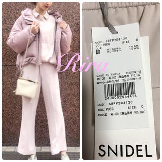 snidel - 完売色🌷新作新品🍀スナイデル ジョーゼットリラックスパンツ