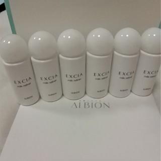 ALBION - アルビオン エクシア ミルクリファイナー(ふきとり用乳液)20ml×6