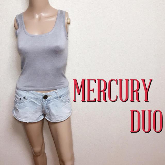MERCURYDUO(マーキュリーデュオ)の極美ライン♪マーキュリーデュオ ストレッチノースリーブ♡ザラ エゴイスト レディースのトップス(カットソー(半袖/袖なし))の商品写真