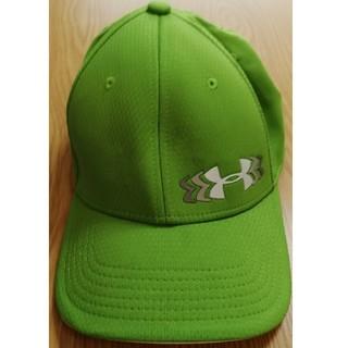 アンダーアーマー(UNDER ARMOUR)のアンダーアーマー(UA) 帽子 緑(キャップ)