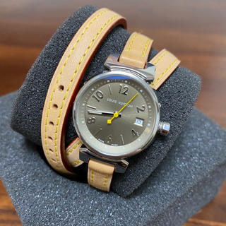 LOUIS VUITTON - ルイ・ヴィトン LOUIS VUITTON タンブール トリプルコイルド腕時計