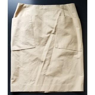 デプレ(DES PRES)のDES PRES ひざ丈スカート デプレ トゥモローランド 日本製(ひざ丈スカート)