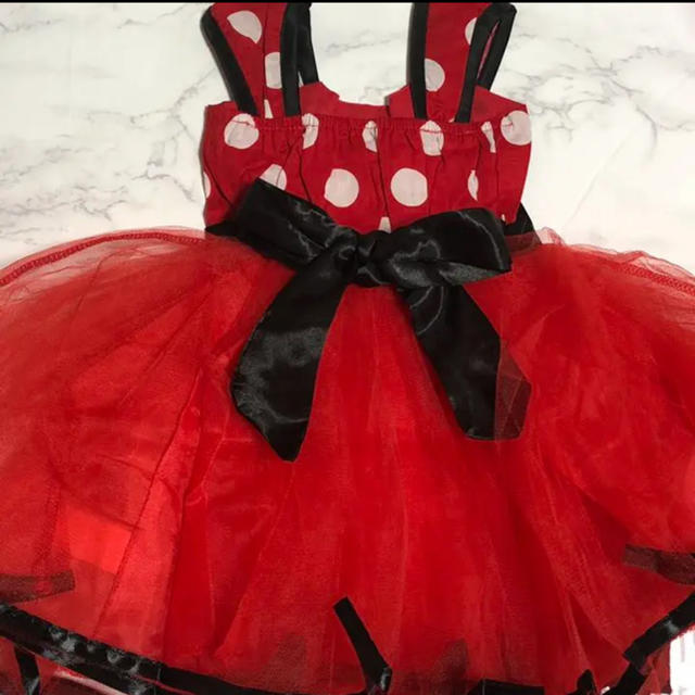 ミニー Disney ハロウィン クリスマス 80 ワンピース コスチューム キッズ/ベビー/マタニティのベビー服(~85cm)(ワンピース)の商品写真