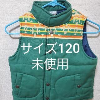 ブリーズ(BREEZE)のブリーズ ブリーズ  ダウンベスト グリーン  キッズ サイズ120(ジャケット/上着)