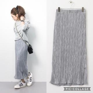 KBF - KBF+  ラメプリーツスカート