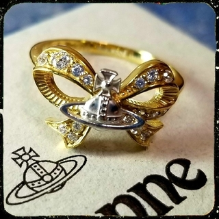 Vivienne Westwood - 新品・GAIL Ring (gold×silver)