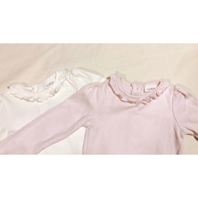 NEXT(ネクスト)のnext baby ロンパース2枚セット キッズ/ベビー/マタニティのベビー服(~85cm)(ロンパース)の商品写真