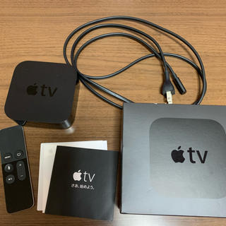 Apple - Apple TV HD(第 4 世代) 32GB MGY52J/A(A1625)