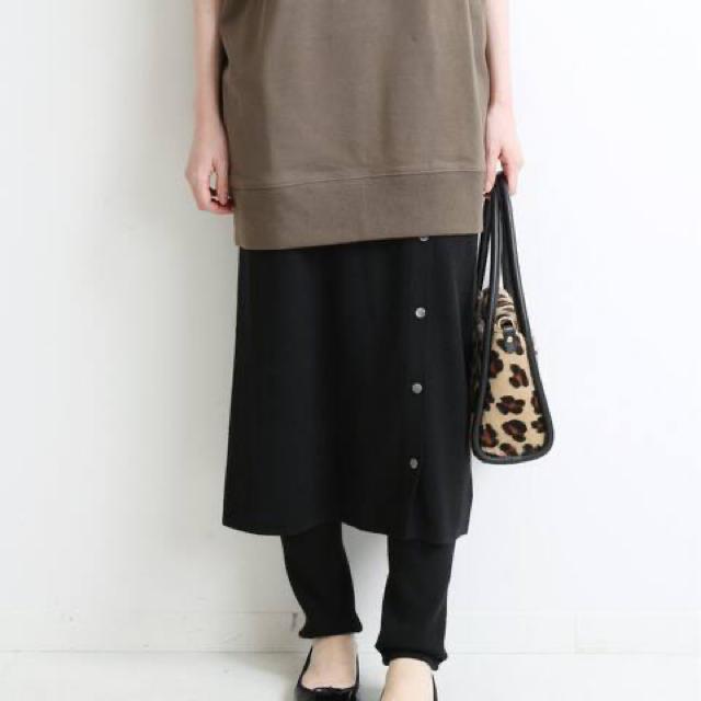IENA(イエナ)のラップスカート風スカッツ レディースのスカート(ロングスカート)の商品写真