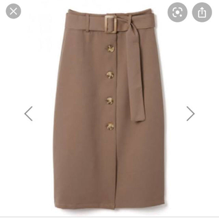 GRL - ベルト付ボタンデザインタイトスカート
