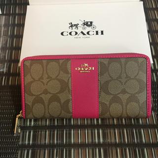 COACH - 即納◉新品★COACH 財布 コーチ 長財布  アウトレット正規品✨箱付き🎀