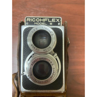 リコー(RICOH)のRICOHFLEX 二眼レフカメラ(ジャンク品)ヴィンテージカメラ(フィルムカメラ)