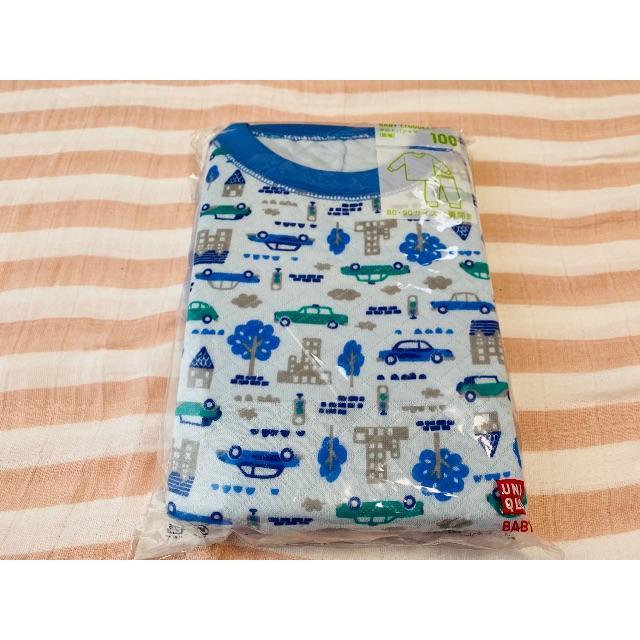 UNIQLO(ユニクロ)のキッズパジャマ キッズ/ベビー/マタニティのキッズ服男の子用(90cm~)(パジャマ)の商品写真