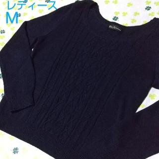 クリアインプレッション(CLEAR IMPRESSION)のM 中古 ダーク ネイビー セーター ニット クリアインプレッション 濃紺 (ニット/セーター)
