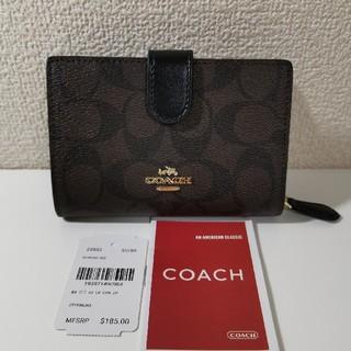 COACH - コーチ二つ折り財布レディース折り財布