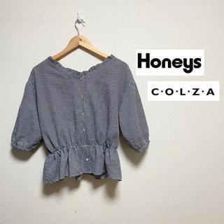 ハニーズ(HONEYS)の【colza/honeys】ギンガムチェック ブラウス トップス(シャツ/ブラウス(長袖/七分))