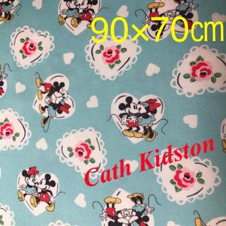 キャスキッドソン(Cath Kidston)のキャスキッドソン☆ミッキーミニーハート生地(生地/糸)