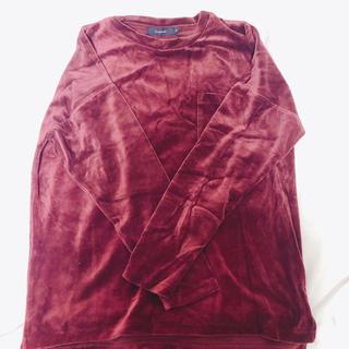 レイジブルー(RAGEBLUE)のメンズ カットソー(ベロア素材)(Tシャツ/カットソー(七分/長袖))