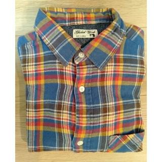 グローバルワーク(GLOBAL WORK)のGLOBAL WORK シャツ メンズ チェックシャツ ファッション(シャツ)