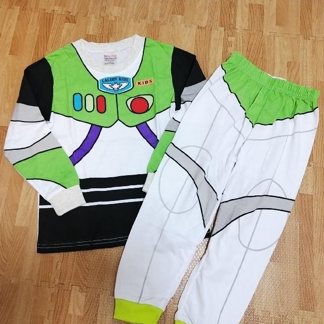 バズ パジャマ 110 キッズ/ベビー/マタニティのキッズ服男の子用(90cm~)(パジャマ)の商品写真