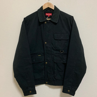 Supreme - 18fw 美品 黒 M supreme field jacket