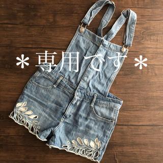H&M - H&M  オーバーオール サロペット  146㎝ 10-11Y(140くらい)