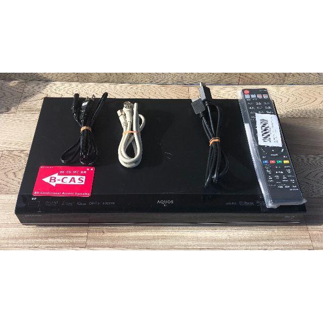 SHARP(シャープ)のSHARP AQUOSブルーレイレコーダー BD-S560 動作品② スマホ/家電/カメラのテレビ/映像機器(ブルーレイレコーダー)の商品写真