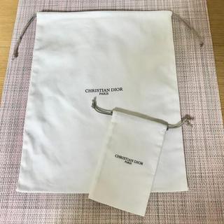 Dior - 【新品】Dior ディオールメゾン クリスチャンディオール 巾着 セット
