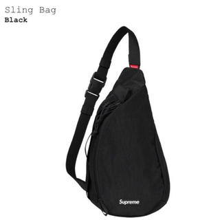 Supreme - supreme 20FW sling bag Black 4L