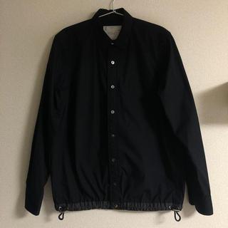 サカイ(sacai)のsacai ドローコード シャツ ブラック サイズ1 S(シャツ)