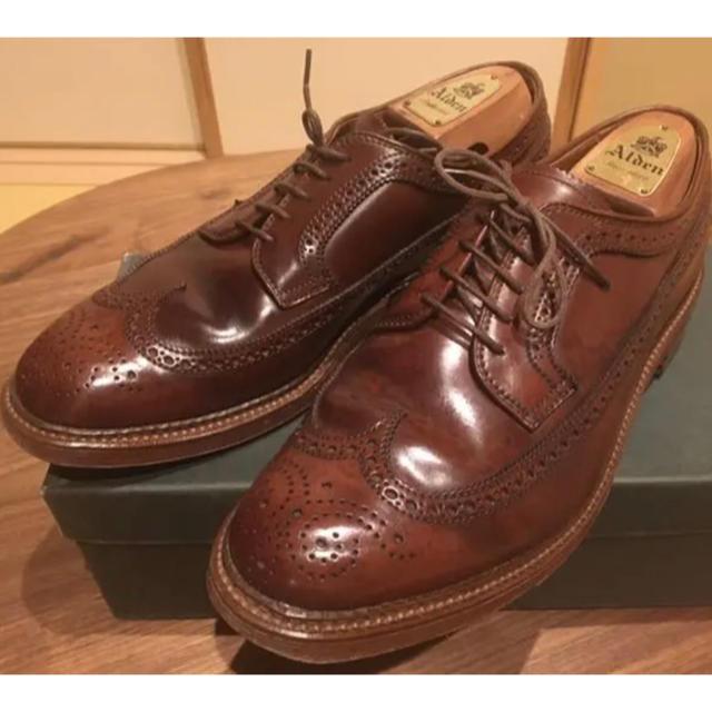 Alden(オールデン)の【ウィスキーコードバン】オールデン ウィングチップ alden メンズの靴/シューズ(ドレス/ビジネス)の商品写真