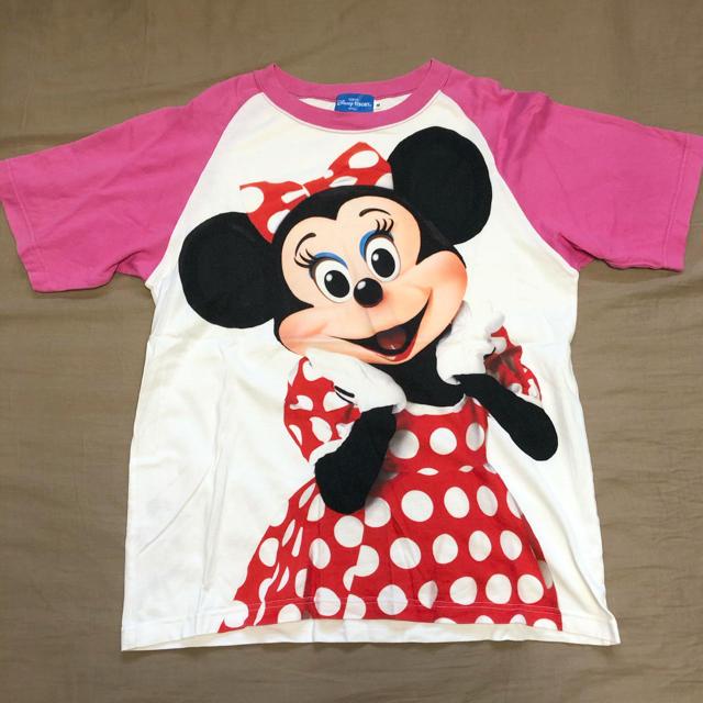 Disney(ディズニー)のミニーマウス 実写 Tシャツ レディースのトップス(Tシャツ(半袖/袖なし))の商品写真