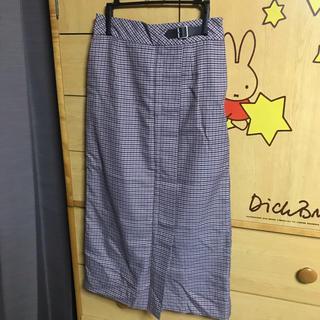テチチ(Techichi)のチェックタイトスカート(ロングスカート)