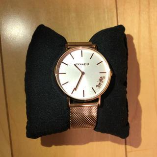 コーチ(COACH)のCOACH 腕時計 レディース ピンクゴールド(腕時計)
