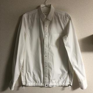 サカイ(sacai)のsacai ドローコード シャツ ホワイト サイズ1 S(シャツ)