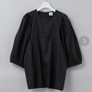 BEAUTY&YOUTH UNITED ARROWS - roku volume short  sleeve blouse
