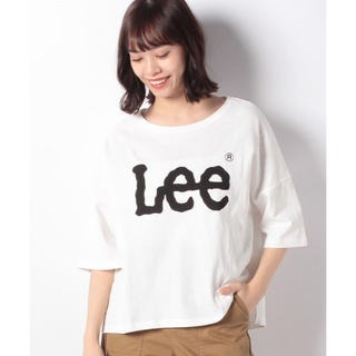 earth music & ecology - Lee×earth ビッグロゴTシャツ