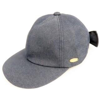 バーバリーブルーレーベル(BURBERRY BLUE LABEL)のクレストブリッジ ブルーレーベル りぼん キャップ 帽子(キャップ)