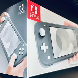 ニンテンドースイッチ(Nintendo Switch)の新品 Nintendo Switch Lite 本体 グレー 送料無料 翌日発送(携帯用ゲーム機本体)