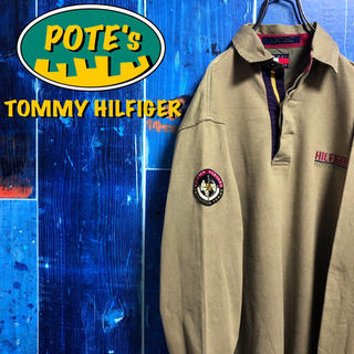 トミーヒルフィガー(TOMMY HILFIGER)の【トミーヒルフィガー】アウトドアエクスペディションシリーズ刺繍ロゴラガーシャツ(ポロシャツ)