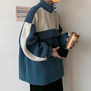 HARE - ハレ カップルウェア 韓国 コート ブラック ブルー
